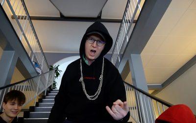 Danmarksindsamling 2018 – forstanderen rapper
