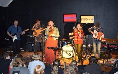 Koncert med Stormhat – lærernes eget band