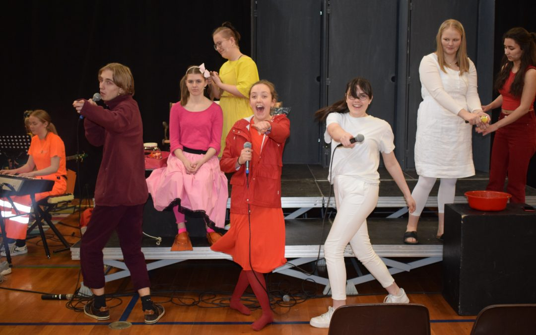 Turné med Tommerup Efterskole | billeder fra generalprøven